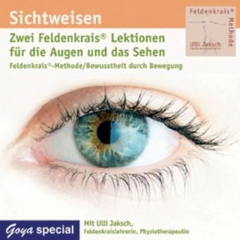 Jaksch: Feldenkrais für die Augen und das Sehen Audio-CD
